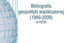 Nowość wydawnicza PTG: Bibliografia geopolityki współczesnej