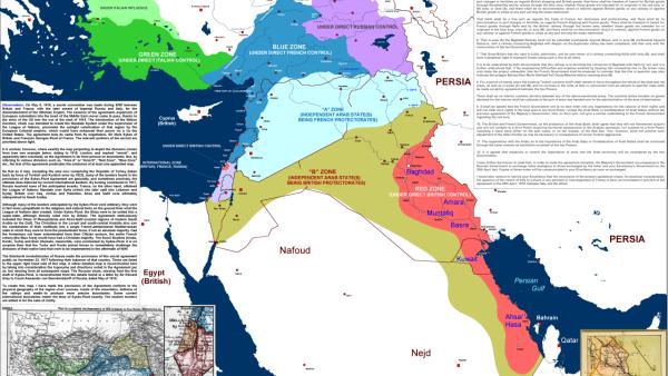 Wykład: Ambicje neoimperialne Turcji w Lewancie w stulecie umowy Sykes – Picot