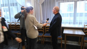 O. Jan Król udziela wywiadu TV Trwam