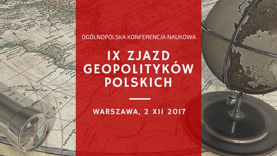 Harmonogram IX Zjazdu Geopolityków Polskich