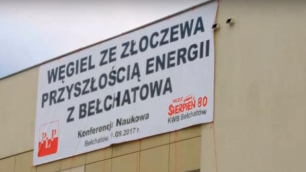 """Relacja z konferencji pt. """"Przyszłość polskiej elektroenergetyki opartej na węglu brunatnym"""""""
