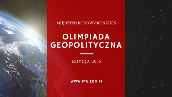 Finał Olimpiady Geopolitycznej – edycja 2018
