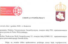 Zawarcie umowy o współpracy z KNMG UJ